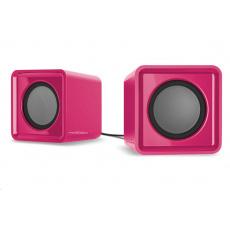 SPEED LINK reproduktory TWOXO Stereo Speakers, růžová