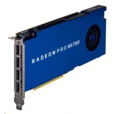 AMD Radeon Pro WX 7100 8GB GDDR5 PCIe x16 Graphics Card, 4xDisplayPort