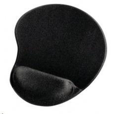 Hama ergonomická gélová podložka pod myš, čierna