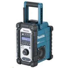 Makita DMR110 - Aku rádio FM/DAB/DAB+ (CXT) 7,2-18V/230V IP64