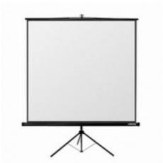 Reflecta TRIPOD Crystal Lux (125x125cm, 2cm černý okraj) plátno stojanové