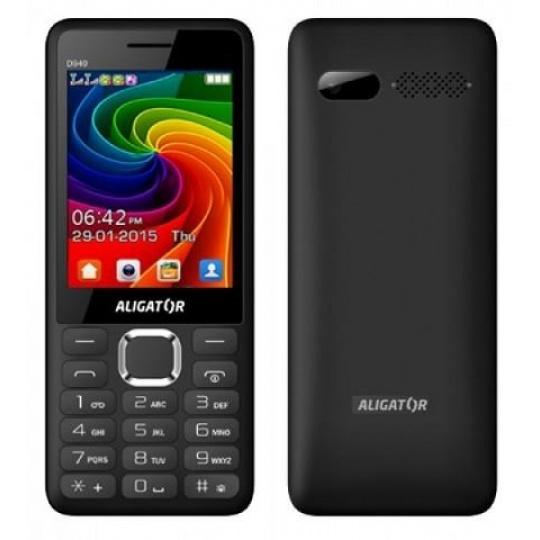 Aligator D940 Dual SIM, černá