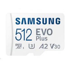 Samsung micro SDXC karta 512 GB EVO Plus + SD adaptér