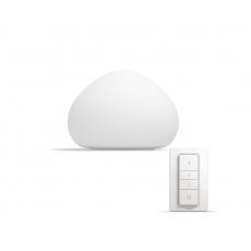 PHILIPS Wellner Stolní svítidlo, Hue White ambiance, 230V, 1x9.5W E27, Bílá