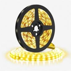 Solight LED světelný pás 5m, 198LED/m, 16W/m, 1500lm/m, IP20, teplá bílá