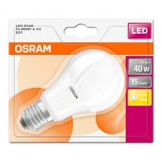 OSRAM LED STAR CL A Fros. 5,5W 827 E27 470lm 2700K (CRI 80) 15000h A+ (Blistr 1ks)