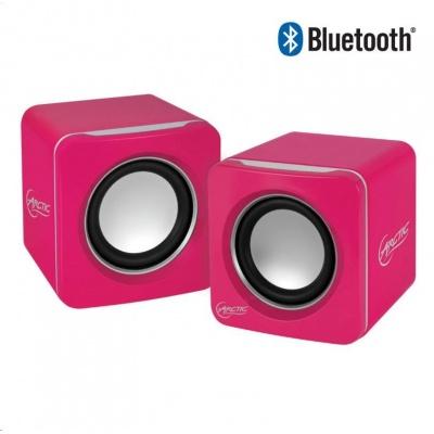 ARCTIC mobilní bluetooth reproduktory - S111 BT - růžové