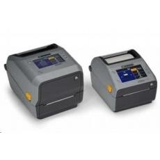 Zebra ZD621d, 8 dots/mm (203 dpi), cutter, linerless, RTC, USB, USB Host, RS232, BT (BLE), Ethernet, grey