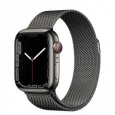 Apple Watch Series 7 Cell, 41mm Graph./Steel/Graph. Mil.Loop