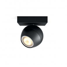 PHILIPS BUCKRAM Bodové svítidlo, Hue White ambiance, 230V, 1x5.5W GU10, Černá, rozšíření