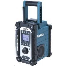 Makita DMR107 - Aku rádio FM/AM (CXT) 7,2-18V/230V IP64