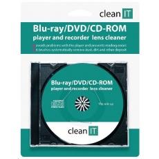 CLEAN IT čistící CD pro Blu-ray/DVD/CD-ROM přehrávače (náhrada za CL-32)