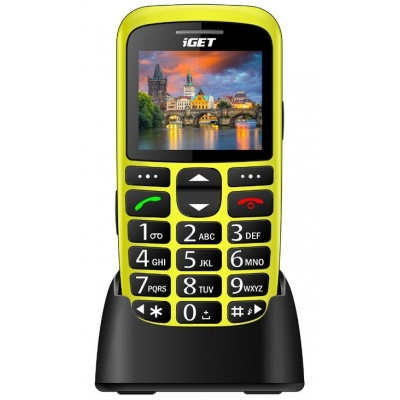 iGET Simple D7, Yellow