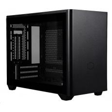 BAZAR Cooler Master case MasterBox NR200P, mini-ITX, mini-DTX, černá, bez zdroje POŠKOZENÁ KRABICE