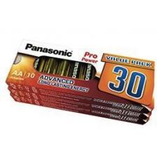 PANASONIC Alkalické baterie Pro Power LR6PPG/30BB MTO  AA 1,5V (Blistr 30ks)