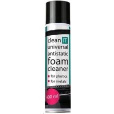 CLEAN IT Antistatická čistící pěna na plasty a kov 400ml