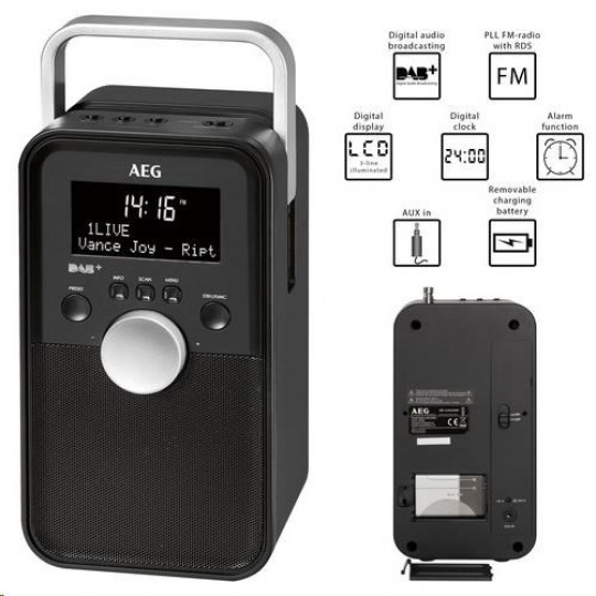 AEG DR 4149 DAB+ Digitální rádio DAB+